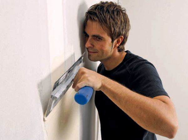 Финишная шпаклевка стен своими руками