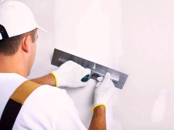 Финишная шпаклевка стен
