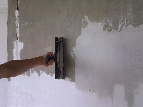 Сколько стоит квадратный метр шпаклевки стен