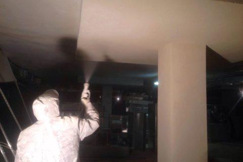 Покраска внутри помещения