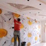 Подготовка поверхности стен к поклейке обоев