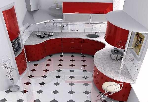 Дизайн и мебель кухне