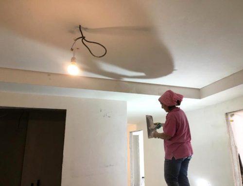 Штукатурка и шпаклевка стен и потолка